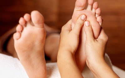 Reflexology with Wendy and Elizabeth