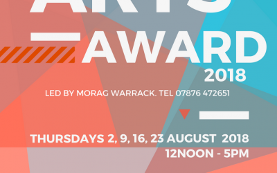 Arts Award for 11-14 year olds with Morag