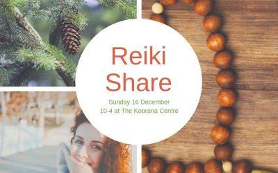 Christmas Reiki Share