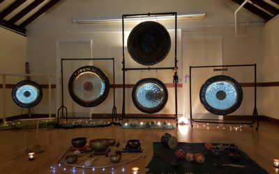 Monthly Gong Bath with Allan